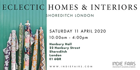ECLECTIC HOMES & INTERIORS FAIR tickets