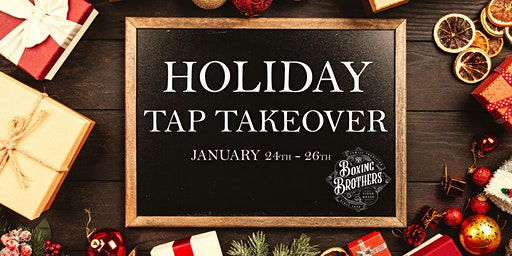 Holiday Tap Takeover