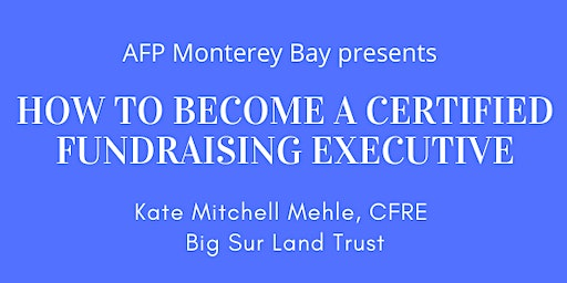 How to become a Certified Fund Raising Executive (CFRE)