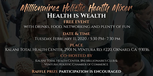 Millionaires Holistic Health Mixer