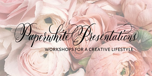 Paperwhite Presentations: Introduction to Calligraphy