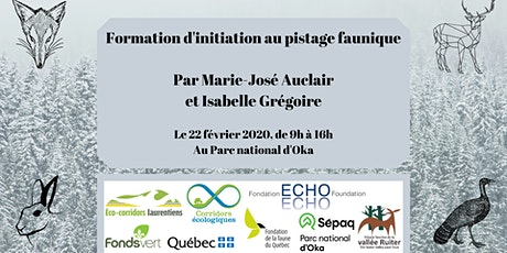 Formation d'initiation au pistage faunique tickets