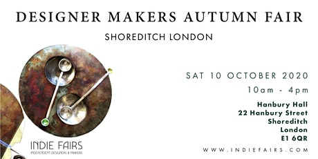 DESIGNER MAKERS FAIR AUTUMN LONDON tickets
