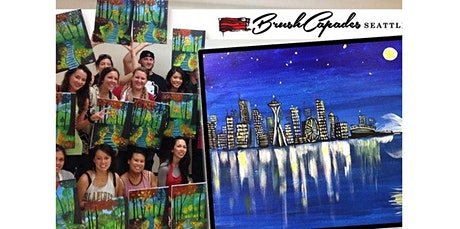 Learn to Paint the Seattle Skyline! (03-28-2020 starts at 7:00 PM) tickets