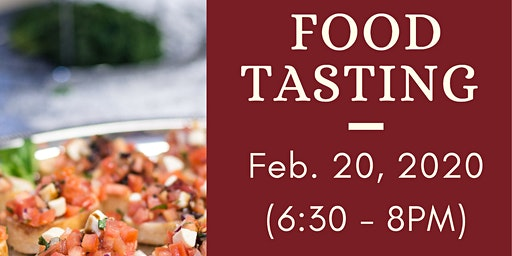 Free Catering Food Tasting