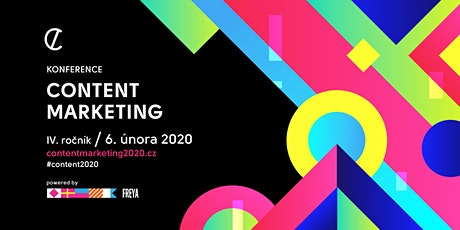 Konference Content marketing 2020 tickets