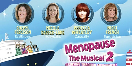 Really Helpful Club: Cruising Through Menopause at New Wimbledon Theatre tickets