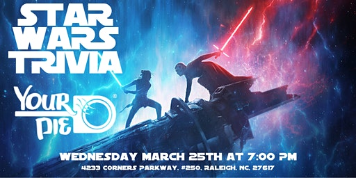 Star Wars Trivia at Your Pie Brier Creek