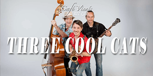Música Jazz en directo: THREE COOL CATS