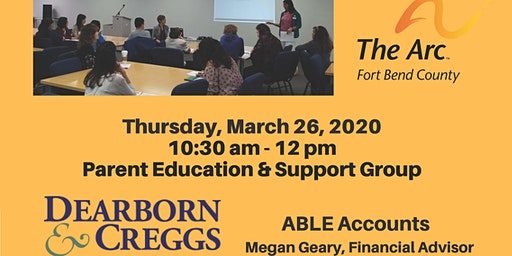 ABLE Accounts Presentation by Megan Geary, Financial Advisor
