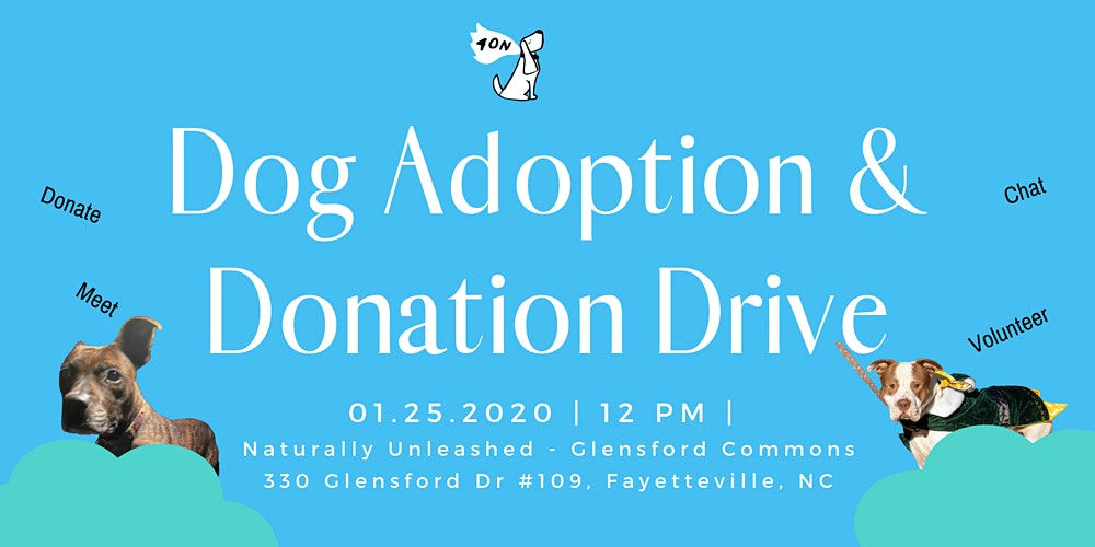 Dog Adoption And Donation Drive Tickets Sat Jan 25 2020