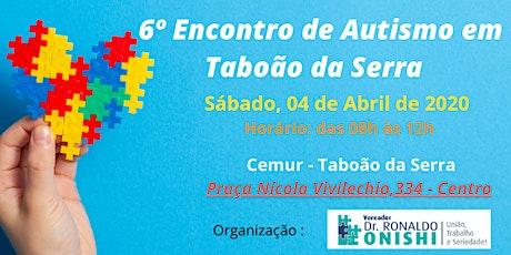 6º Encontro de Autismo de Taboão da Serra ingressos