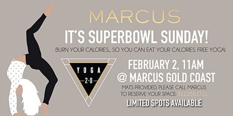 SUPER BOWL SUNDAY YOGA tickets