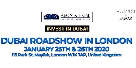 AEON TRISL DUBAI PROPERTY SHOW | Invest in EMAAR Projects Dubai tickets