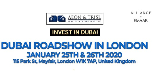 AEON TRISL DUBAI PROPERTY SHOW | Invest in EMAAR Projects Dubai
