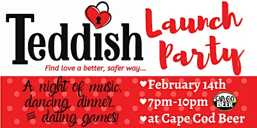 Teddish Valentine's Day Launch Party
