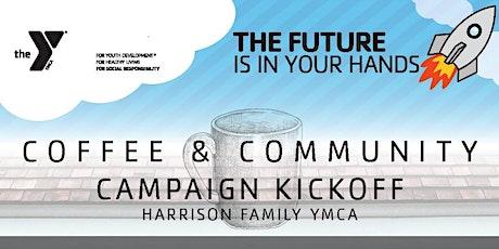 YMCA Coffee & Community Campaign Kickoff tickets
