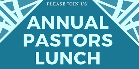 2020 Pastors Lunch tickets