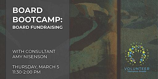 Board Bootcamp: Board Fundraising Training