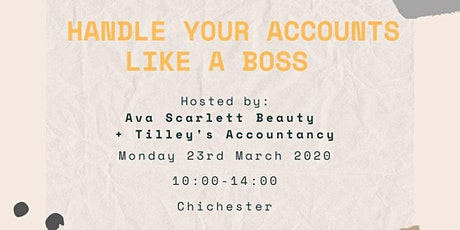 Handle your accounts like a boss tickets