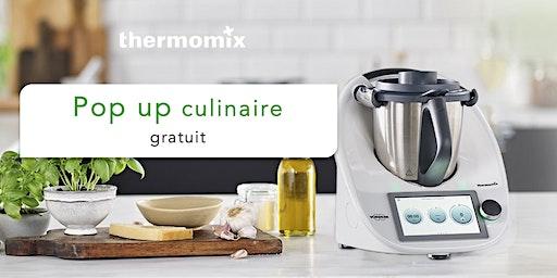 Pop-up! culinaire Thermomix® GRATUIT// Trois-Rivières