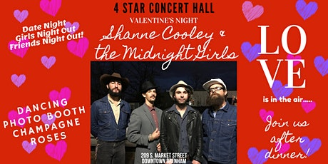 Valentine's Night with Shane Cooley & The Midnight Girls tickets