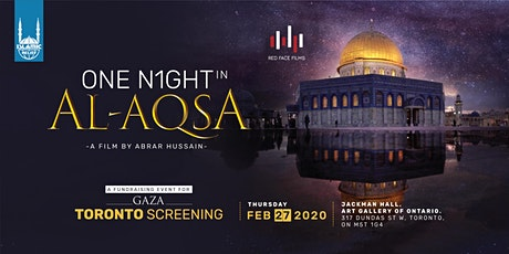 One Night in Al-Aqsa Film Screening · Toronto tickets