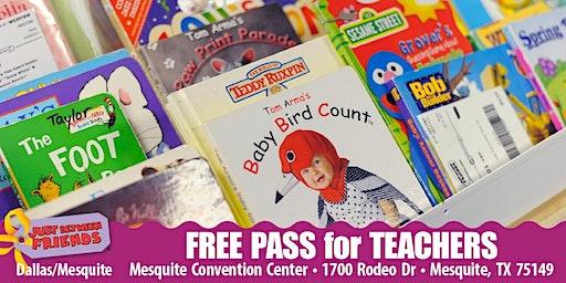 JBF Dallas/Mesquite: Spring 2020 Teacher/Daycare/Homeschool (FREE Admission)