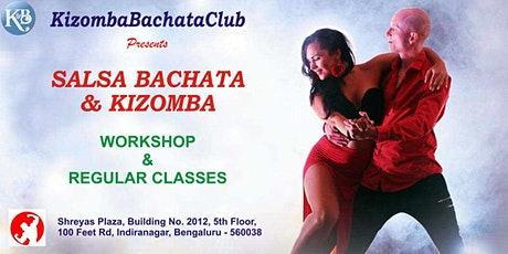 FREE SALSA BACHATA KIZOMBA Dance Workshop for Girls and COUPLE tickets