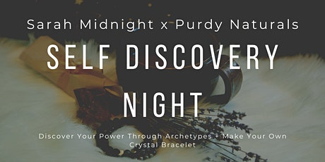 Self Discovery + Crystal Bracelet Making Night tickets