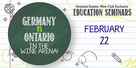Germany vs Ontario in the wine arena! - FEB 22 tickets