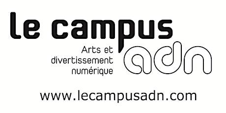 Conception sonore - Séance d'info - Campus ADN billets