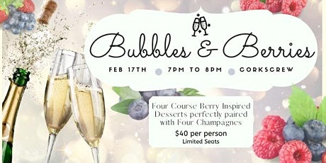 Bubbles & Berries tickets
