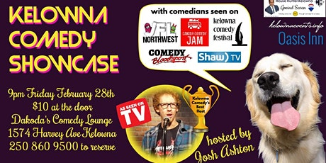 Kelowna Comedy Showcase tickets