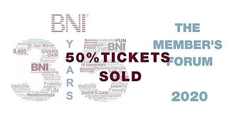 BNI: THE MEMBERS' FORUM 2020