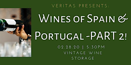 Wines of Spain and Portugal - PART 2!  tickets