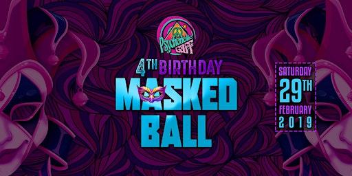 Psychedelic Gaff 4th Birthday - Masked Ball w/ Hydra-E