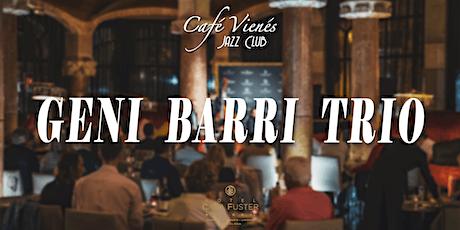 Música Jazz en directo: GENI BARRI TRIO entradas