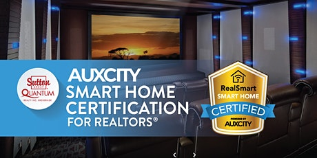 AuxCity - RealSmart Smart Home Certification tickets