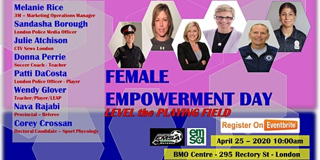 EMSA Referee Female Empowerment Day - Level the Playing Field tickets