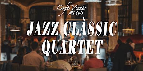 Música Jazz en directo: JAZZ CLÀSSIC QUARTET entradas