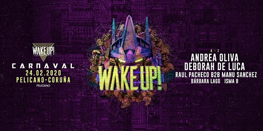 Wake Up CARNAVAL | Sala Pelícano