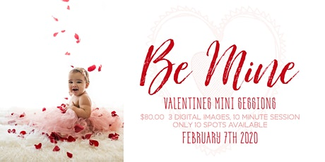Be Mine Valentines Mini Sessions tickets