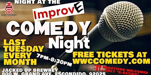 Night at the Improv(e) Comedy Night @JackedUpBrewery