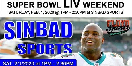 Ricky Williams Vip Autograph Signing Super Bowl Weekend tickets