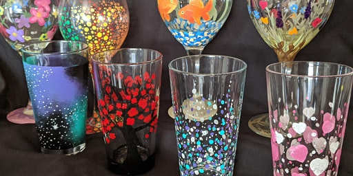 Pint Glass Painting Class