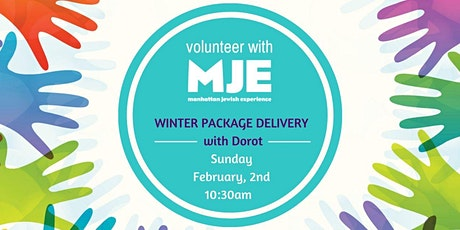Volunteer Winter Package Delivery to Seniors with Dorot  tickets