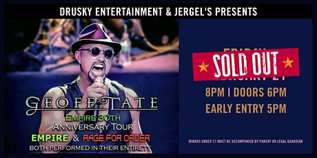 Geoff Tate Empire 30th Anniversary Tour - SOLD OUT! tickets