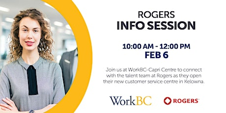 Rogers Info Session tickets