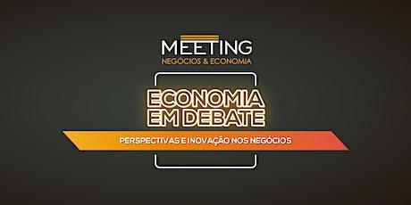 Economia em Debate: Perspectivas e Inovação nos Negócios ingressos